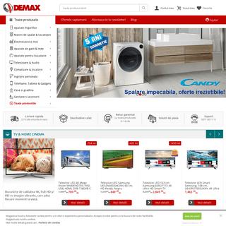 DEMAX - Magazin online de electronice si electrocasnice! - Demax