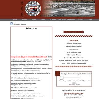 ArchiveBay.com - yuroktribe.org - The Yurok Tribe Home Page