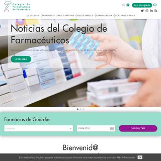 Colegio Oficial de Farmacéuticos de Pontevedra