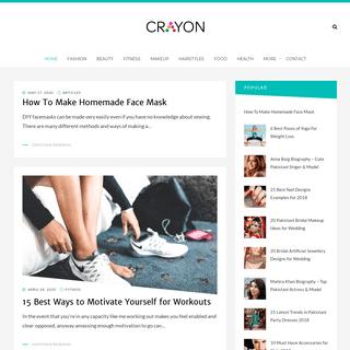 Crayon - Lifestyle, Beauty, Makeup & More