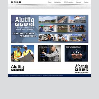 Alutiiq - Exceptional service. Proven results.