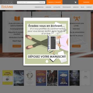 Edilivre - publier un livre en ligne -