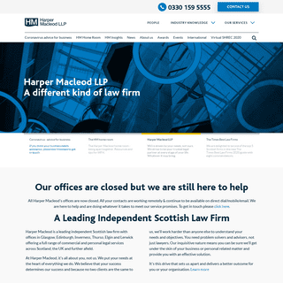 Harper Macleod LLP - A Leading Independent Scottish Law Firm