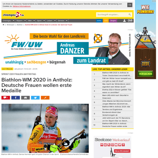 ArchiveBay.com - www.chiemgau24.de/wintersport/biathlon/biathlon-wm-2020-antholz-liveticker-sprint-frauen-zr-13538285.html - Biathlon-WM 2020 in Antholz heute im Liveticker- Der Sprint der Frauen - Biathlon
