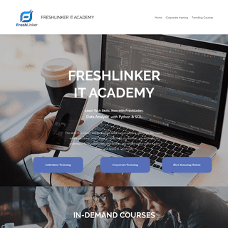 Home - FreshLinker IT Academy