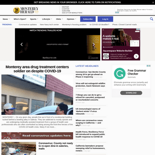 Montereyherald.com covers local news in Monterey County, California. Keep up with all business, local sports, outdoors, local co