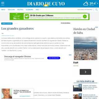 Los grandes ganadores - Diario de Cuyo - Noticias de San Juan, Argentina y el mundo