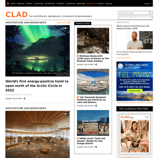 Architecture and design news - CLADglobal.com