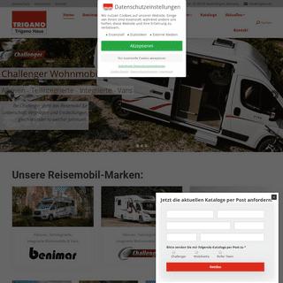 Trigano Haus Deutschland- Benimar & Challenger & Roller Team & Mobilvetta Wohnmobile