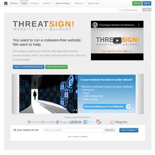 ArchiveBay.com - quttera.com - FREE Online Website Malware Scanner - Website Security Monitoring & Malware Removal - Quttera