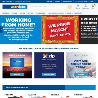 Shop DSLR Cameras, Lenses & Sale Online - Camera House Australia