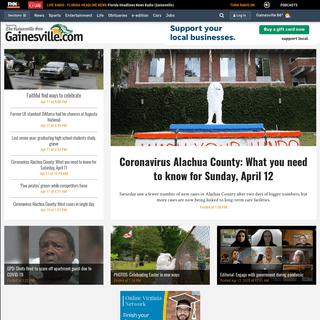 Gainesville Sun- Local News, Politics, Entertainment & Sports in Gainesville, FL