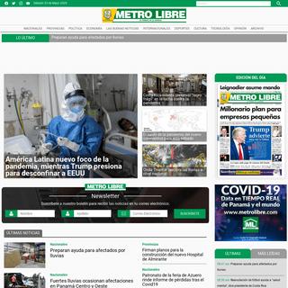ArchiveBay.com - metrolibre.com - Noticias de Panamá y el mundo - Metro Libre