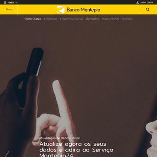Banco Montepio - Produtos e Serviços para Particulares