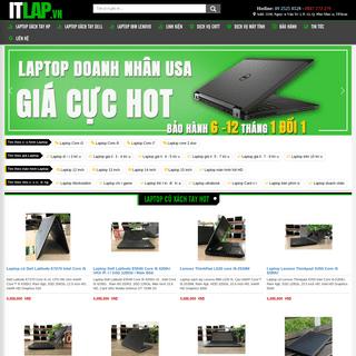 Laptop Cũ Xách Tay Giá Rẻ tphcm - Laptop cũ giá rẻ - ITLap