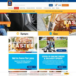 ALDI UK - Homepage