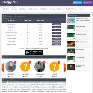 Okey Oyna- Normal Okey Siteleri Hızlı 101 Okey Plus Düz Okey