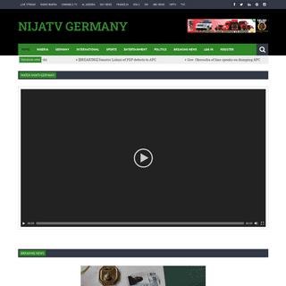 HOME - NijaTV GermanyNijaTV Germany - Made in Germany…Proudly Nigeria