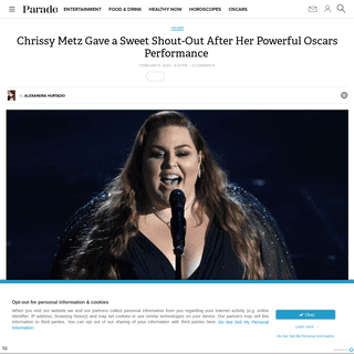 Chrissy Metz Performs Breakthrough Song at the 2020 Oscars, Watch the Full Video