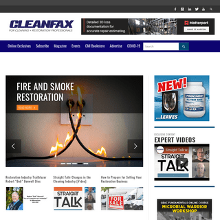 Cleanfax- Serving Cleaning & Restoration Professionals