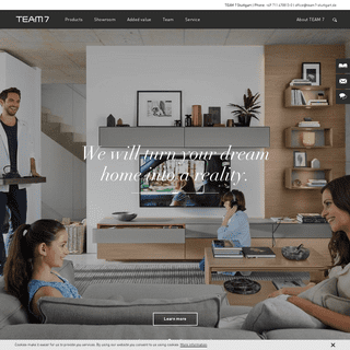 TEAM 7 flagship store Stuttgart - Furniture for all living areas