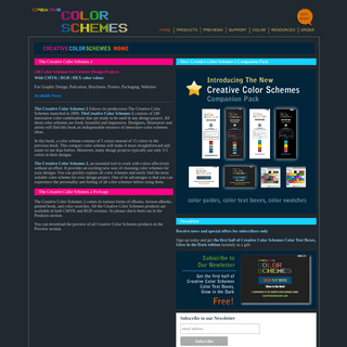 Great Color Schemes - Good Color Combinations - Cool Color Palettes for print and web site