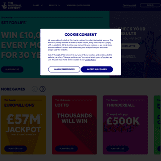 Home - The National Lottery