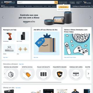Amazon.com.br - Compre livros, informática, Tvs, Casa & Cozinha, Kindle, Echo e Fire TV