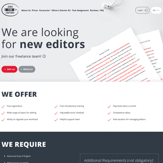 ArchiveBay.com - jobsforeditors.com - Freelance Editing Jobs - best offers at Jobs for Editors