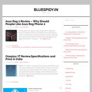 Bluespidy.in - Tech Talk