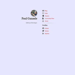 ArchiveBay.com - ganssle.io - Paul Ganssle