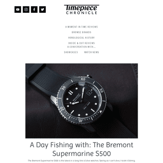 Timepiece Chronicle In-depth, informative and entertaining articles about watches