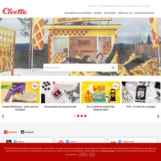 Cloetta - Start