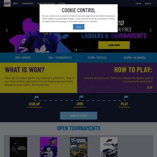 The home of esports and competitive gaming by WorldGaming