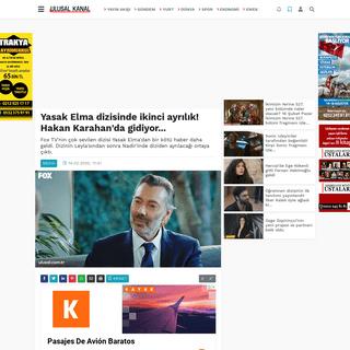 Yasak Elma dizisinde ikinci ayrılık! Hakan Karahan'da gidiyor... haberi- Son Dakika Haberleri