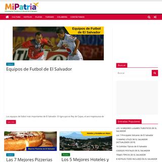 MIPATRIA.NET - Información Turística y Cultural de El Salvador