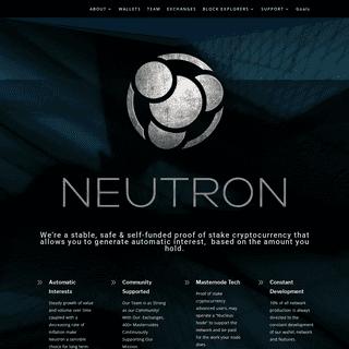 ArchiveBay.com - neutroncoin.com - Neutron Coin - The Future of Savings