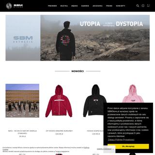 SBMStore.pl SBM Label • Esthetic • Store