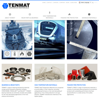 TENMAT- Advanced Materials for Rail, Marine, Agriculture, Fire Protection