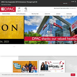 DPAC Official Site