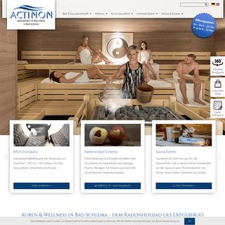 ACTINON Gesundheit & Wellness in Bad Schlema - Gesundheitsbad & Therme