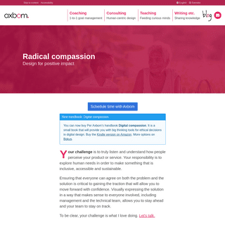 axbom — UX • design • accessibility • strategy • coaching • ethics