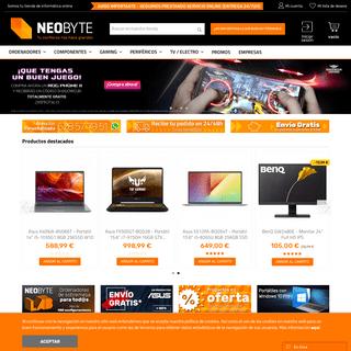 Tienda de informática y gaming online - Neobyte