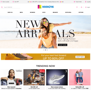 NNNOW.com Discover and Shop Latest Fashion and Clothes Online.