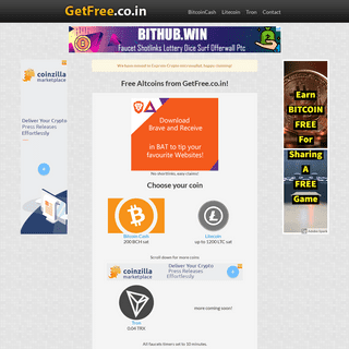 Get Free Coin - Home