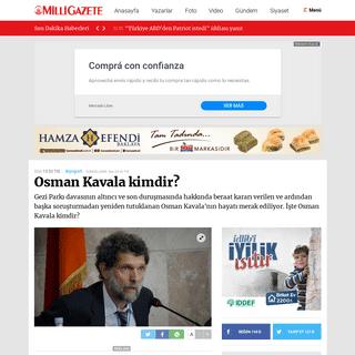 Osman Kavala kimdir- -Biyografiler