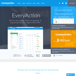 EveryAction - The Best Nonprofit CRM for Fundraising, Advocacy, and Donor Management
