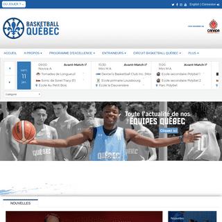 ArchiveBay.com - basketball.qc.ca - Fédération de Basketball du Québec