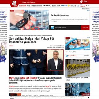 Son dakika- Mafya lideri Yakup Süt İstanbul'da yakalandı
