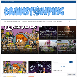 BRAINSTOMPING – All-New! All-Different!